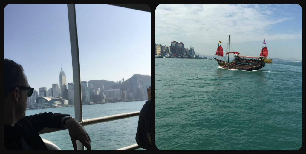 HK Harbour collage